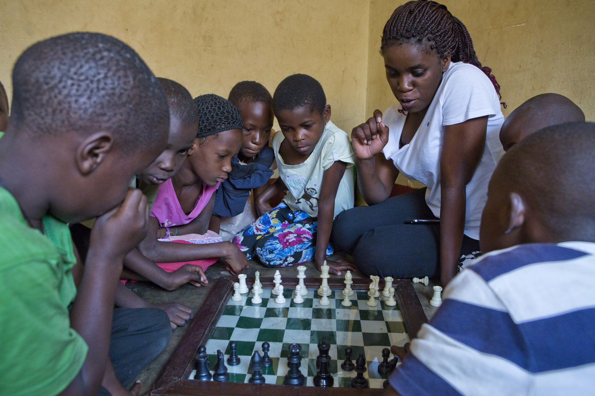 Uganda´s Chess Champion