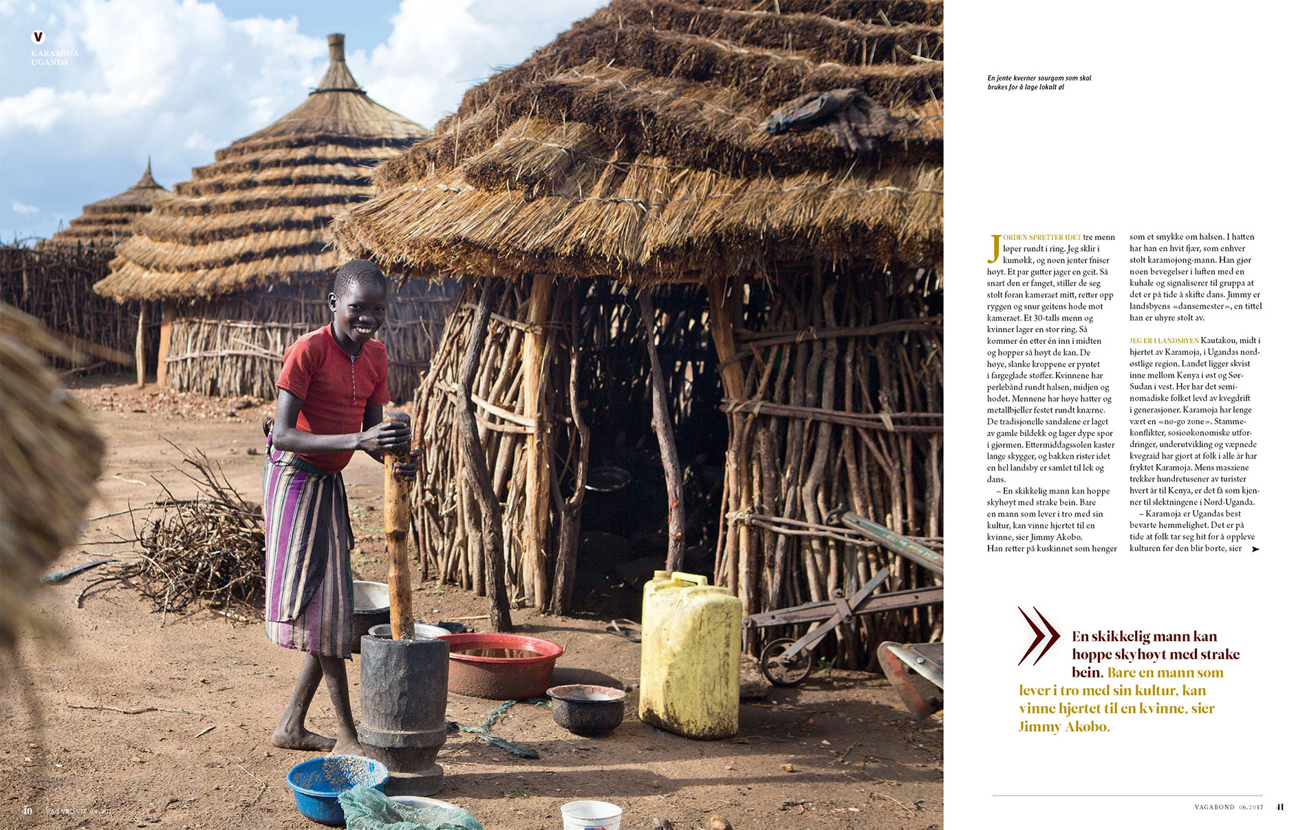 Travel Story from Karamoja