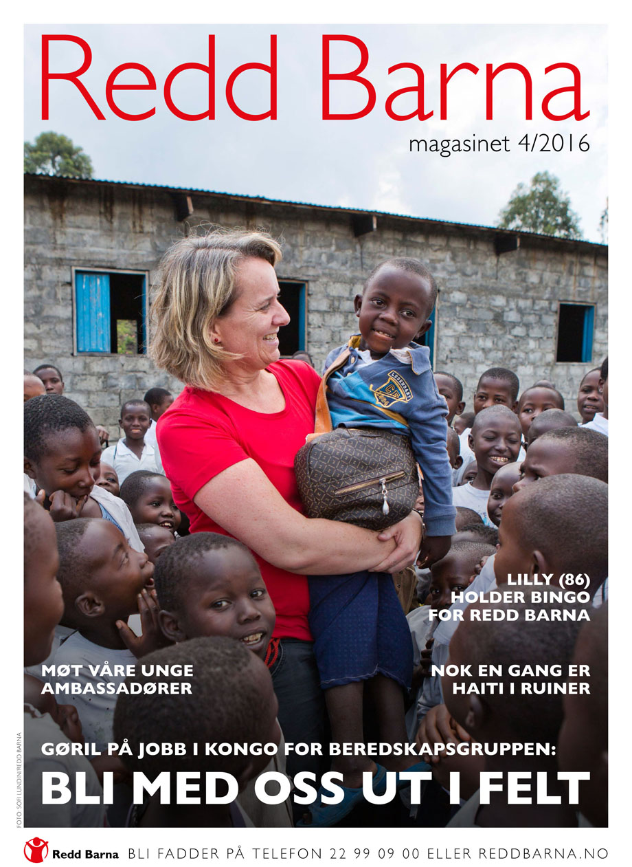 Cover story from DR. Congo for Save the Children