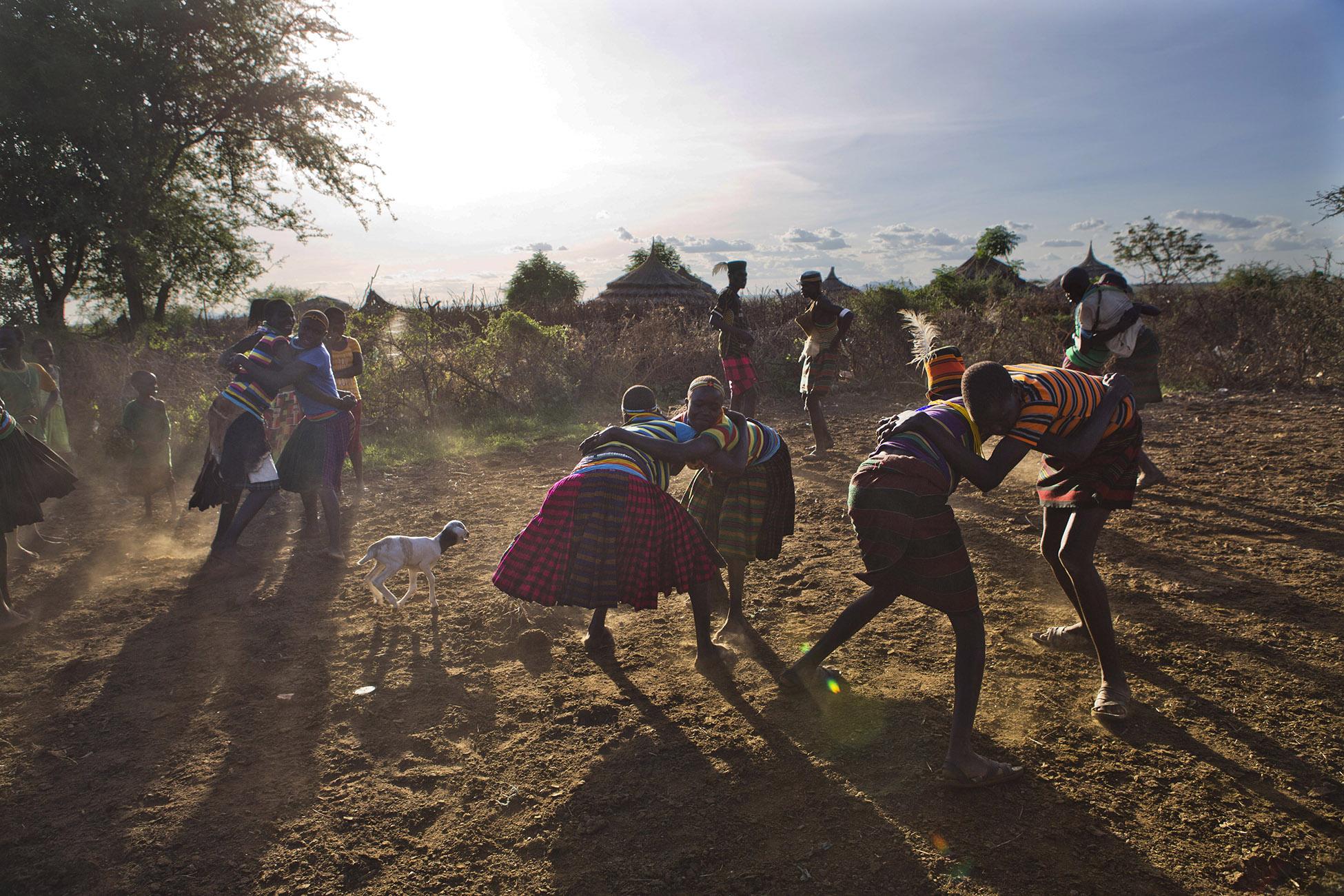 The indigenous people of Karamoja