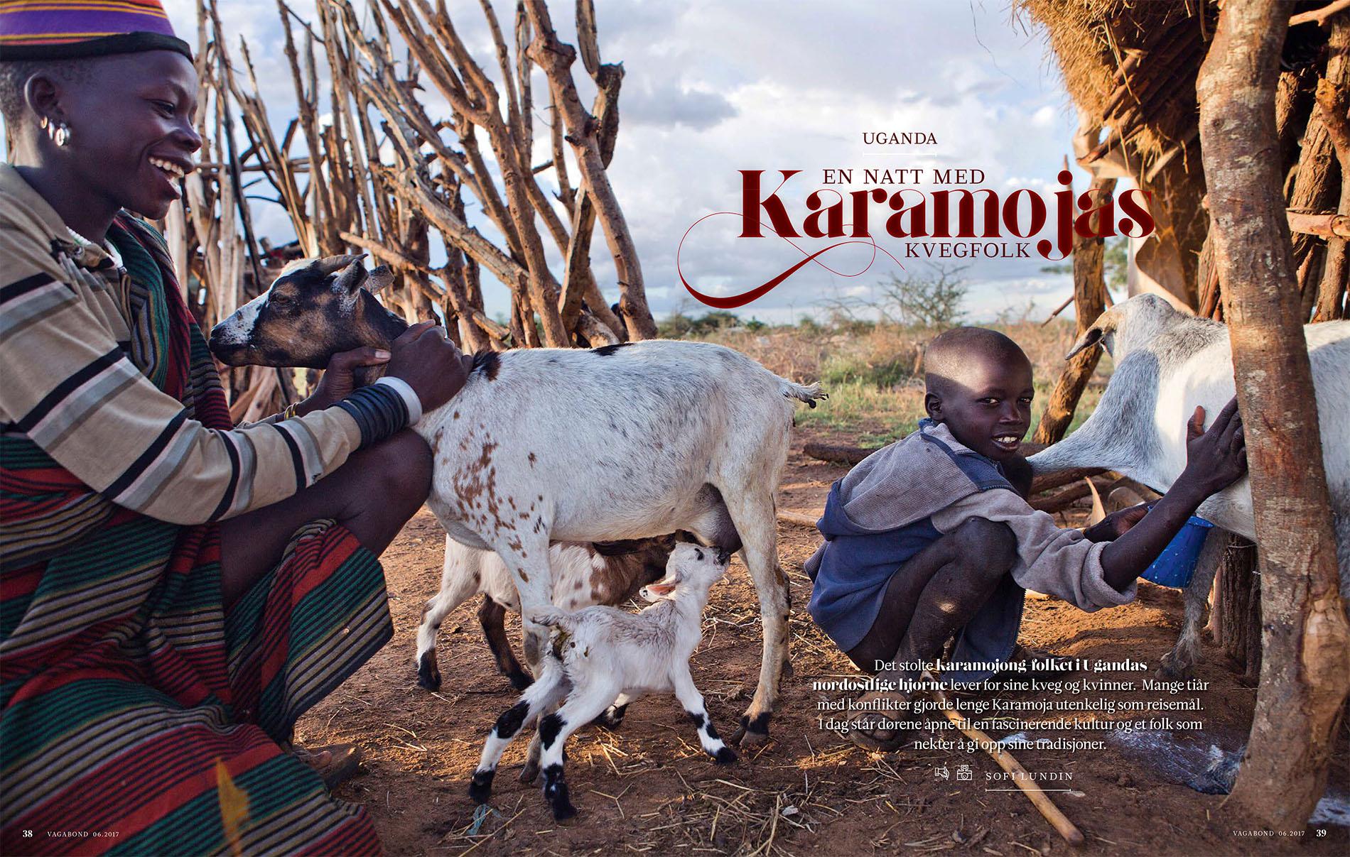 Karamojas Cattle Warriors