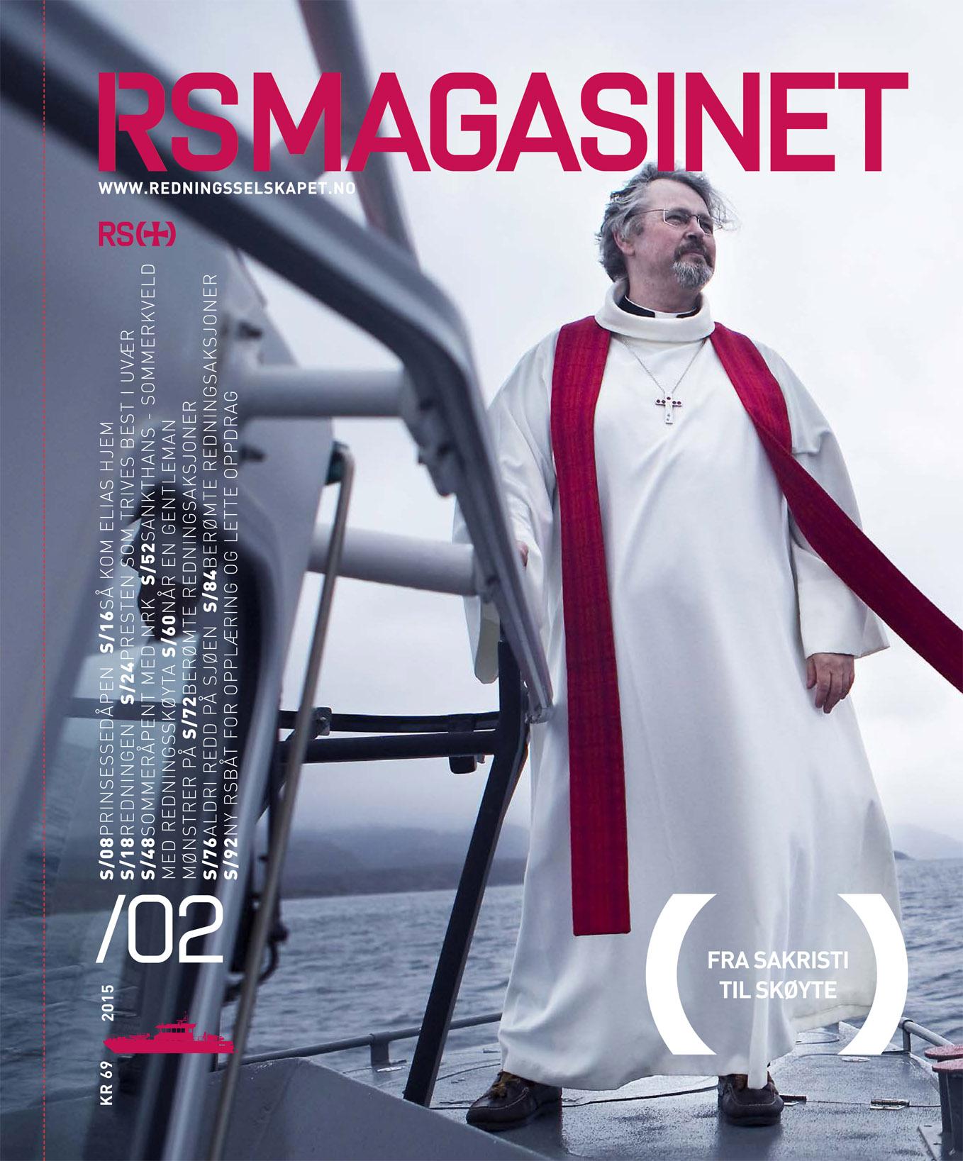 Cover story, Redningsselskapet´s magazine