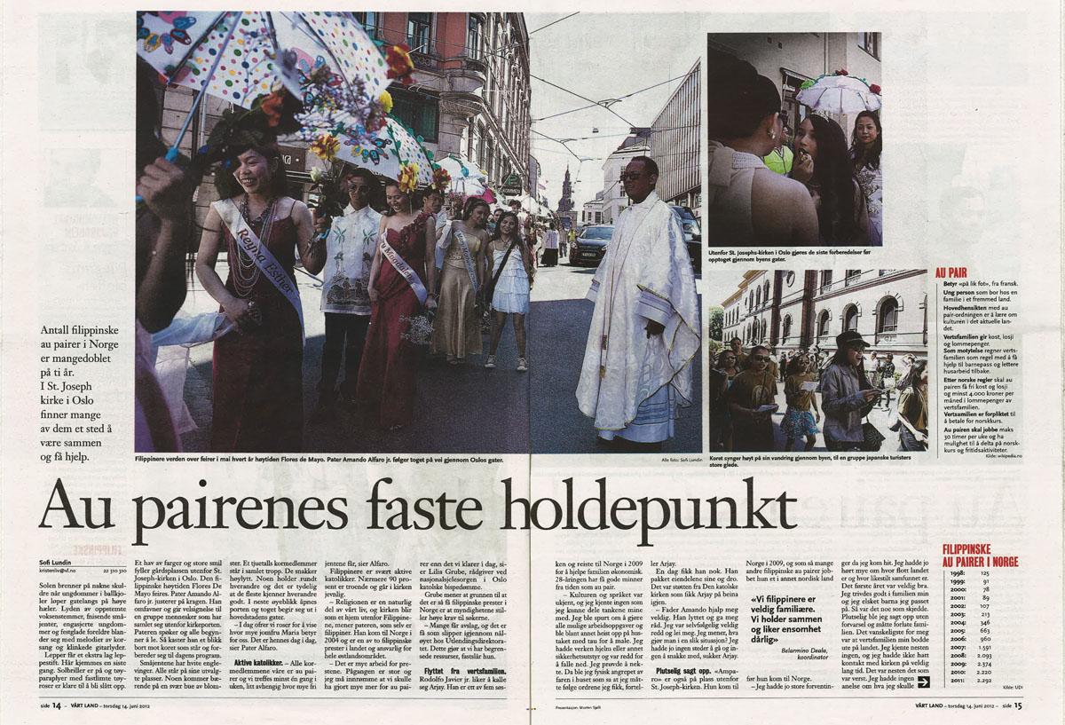 Published in Vårt Land