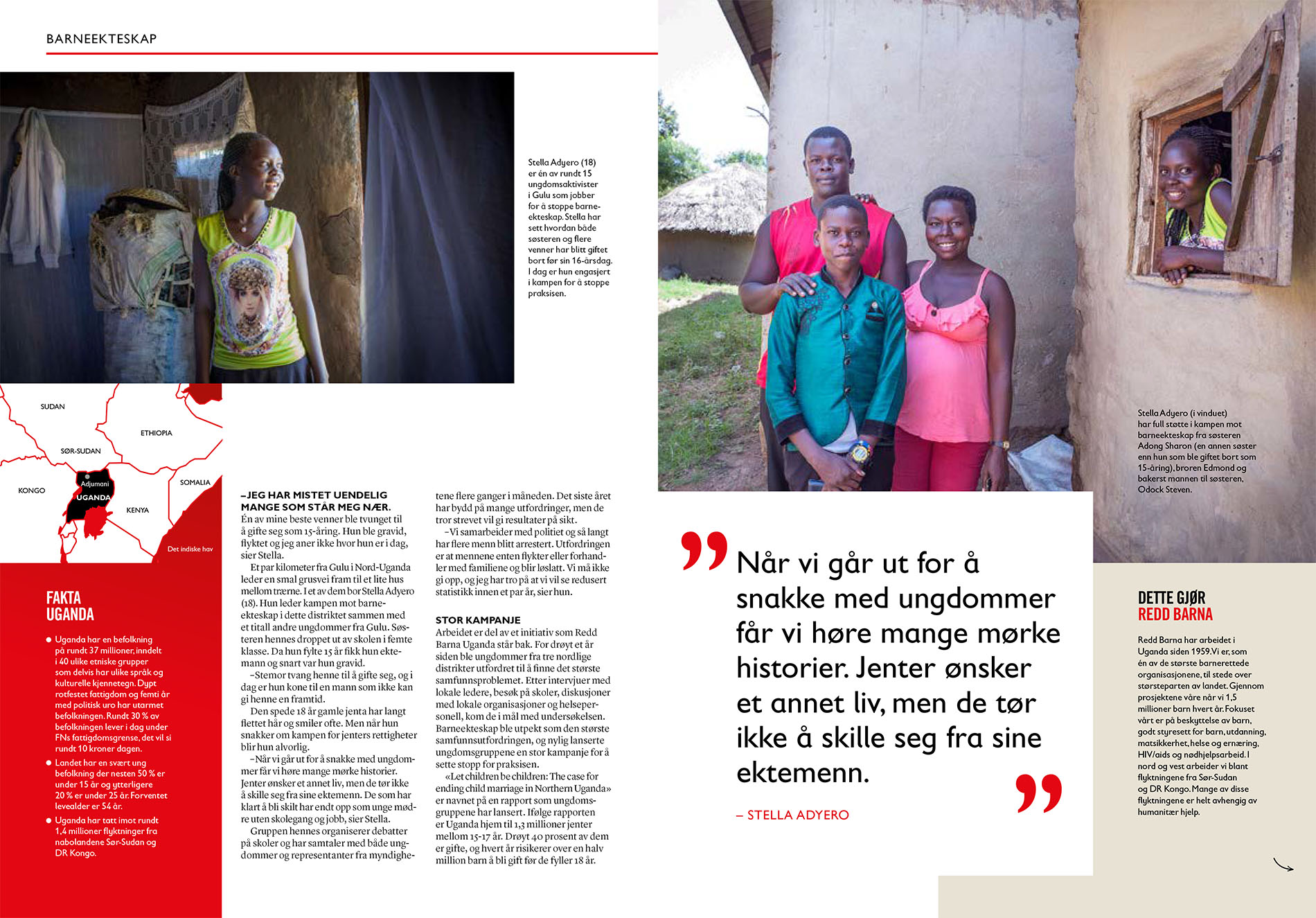 Child marriage in Northern Uganda