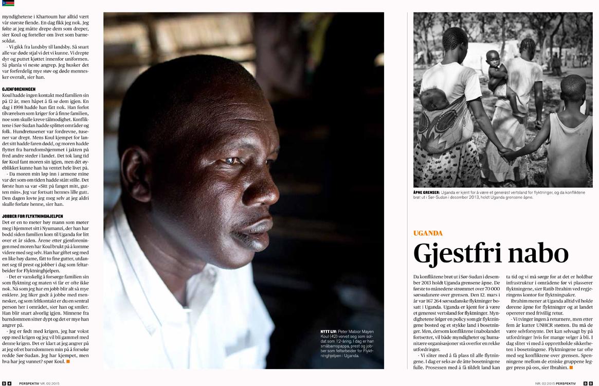 South Sudan Crisis - Perspektiv, 2015