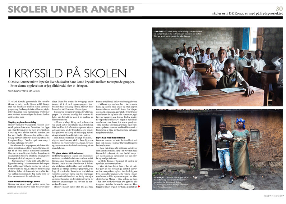 Story from DR. Congo for Save the Children
