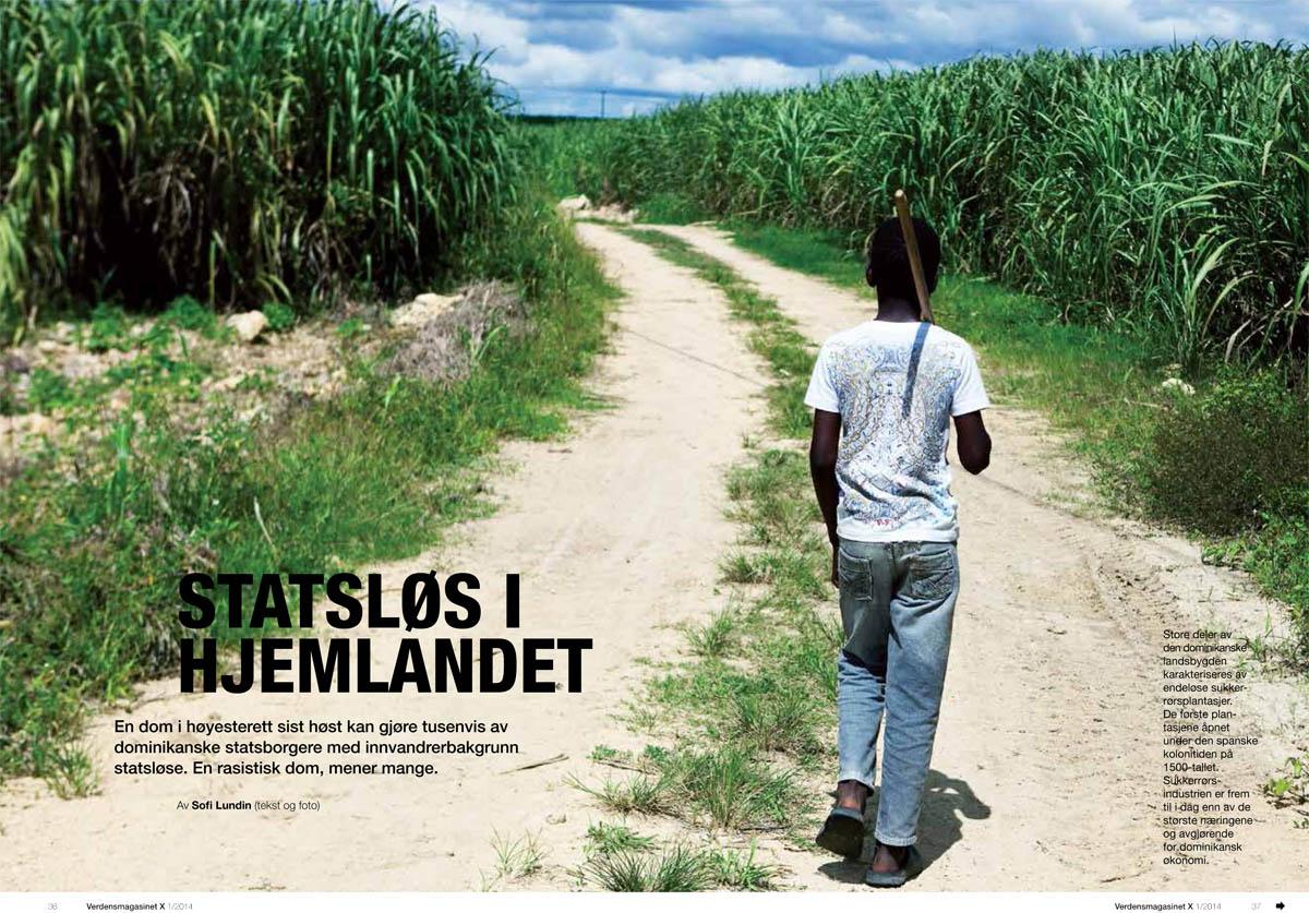 Haitian migrants in the Dominican Republic - Verdensmagasinet X, 2014